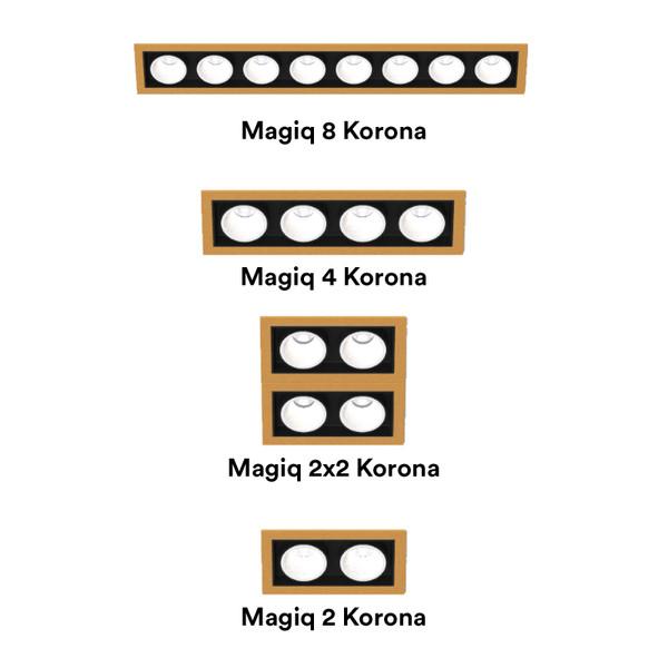 Prolicht, Indoor lighting, Light Project, Magiq Korona, Ceiling, Recessed, Trimless